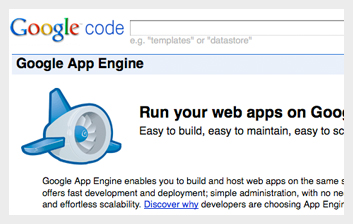 google app engine Google Products For Web Developers