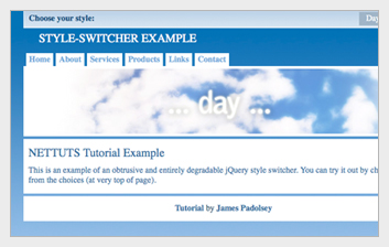 style switcher jquery 6 jQuery Plugins For A Better Website