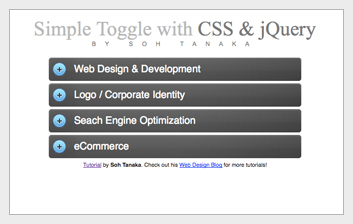 toggle jquery 6 jQuery Plugins For A Better Website