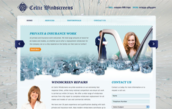 Celtic Windscreens Web Project