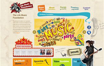 Life Music Web Project