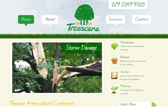 Treescene Web Project