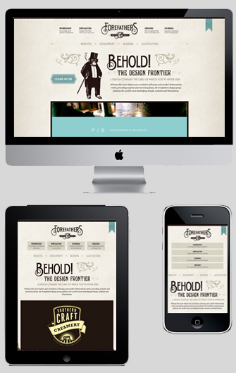 responsive example1 Responsive Websites – The future of Website Design